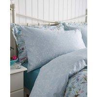 V&A Botanica Aqua Housewife Pillowcases