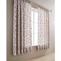 VandA Honeysuckle Trail Pleated Curtains