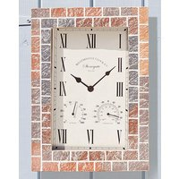 Stonegate Wall Clock and Thermometer
