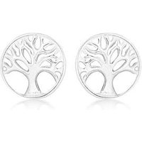 Sterling Silver Tree of Life Earrings at Simply Be Catalogue Store