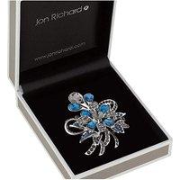 Jon Richard Peardrop Flower Brooch