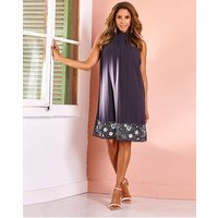 Joanna Hope Sequin Border Shift Dress