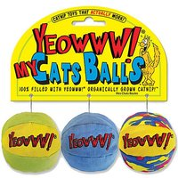 Yeowww My Cats Balls 3 Pack