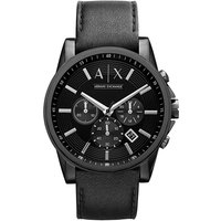Armani Exchange Outerbanks Leather Watch
