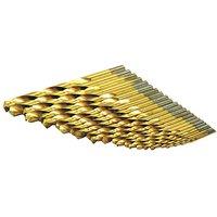 Rolson 25pc Titanium Drill Bit Set