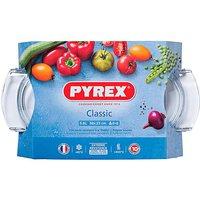 Pyrex Easy Grip Oval 4.5L Casserole Dish