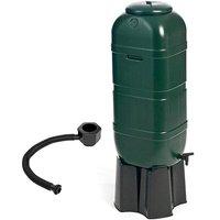 100L Slimline Garden Water Butt Set