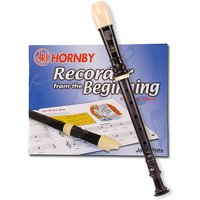 Hornby C Descant Recorder With Tutor