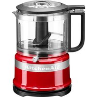 KitchenAid Mini Red Food Processor.