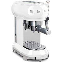 Smeg Retro White Espresso Coffee Machine