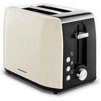'Morphy Richards Cream 2 Slice Toaster