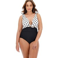 Knotted Strap Cut Out Detail Swimsuit