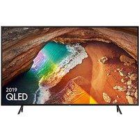 Samsung 49in QLED 4K HDR Smart TV.