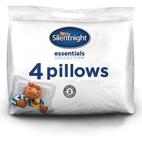 Silentnight Hippo and Duck Pack 4 Pillows