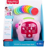 Fisher-Price Count and Rumble Piggy Bank