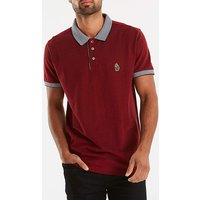 Luke Sport Deep Red Whittle Polo R.