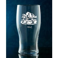 Personalised Beer Glass at JD Williams Catalogue