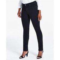 Petite Black Sadie Slim Leg Jeans