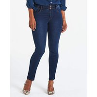 Petite Shape and Sculpt Straight Leg Jeans