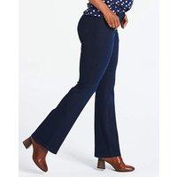 Petite Kim High Waist Bootcut Jeans