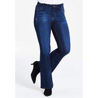 Petite Indigo Eve Bootcut Jeans