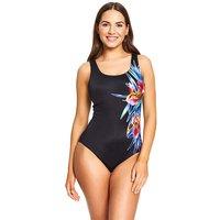 Zoggs Hybrid Tummy Control Swimsuit.