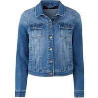 Petite Mid Blue Denim Jacket