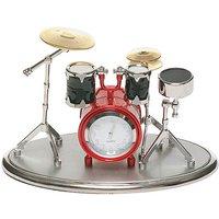 Miniature Drum Kit Clock