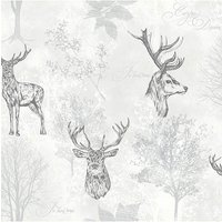 Etched Stag Mono WP.