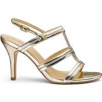 Heavenly Soles Cage Heel Shoes EEE Fit