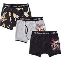 Joe Browns 3 Pack Pin-Up Boxer Shorts