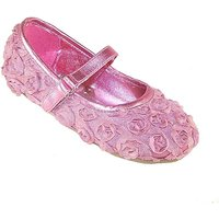 Sparkle Club Pink Flower Shoes