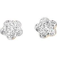 Crystal Glitz 9 Carat Gold Earrings