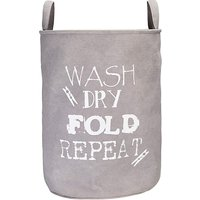 Wash Dry Fold Repeat' Laundry Bag