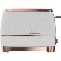 Beko Cosmopolis White & Rose Toaster