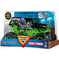 Image of 1:24 Scale Die Cast Trucks- Grave Digger