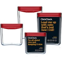 Clickclack Pantry Space Cube Set of 4