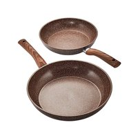 Anti-Scratch Stone Set of 2 Frying Pans