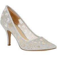 Lotus Sparkle Stiletto Court Shoes
