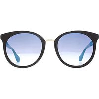 Guess G Chain Temple Round Sunglasses