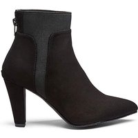 Audrey Stretch Boots Wide Fit