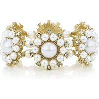 Mood Pearl Flower Bracelet
