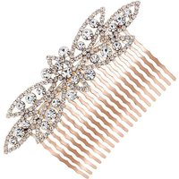 Mood Rose Gold Crystal Hair Comb