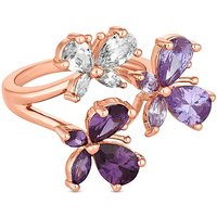Jon Richard Butterfly Cluster Ring