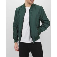 Green Tipped Bomber Jacket.
