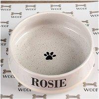 Personalised Embossed Pet Bowl Small