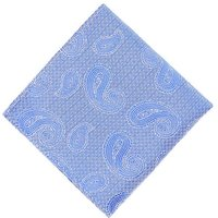 Kensington Paisley Pocket Square
