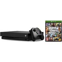 'Xbox One X Console + Gta