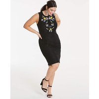 Lovedrobe Embroidered Lace Dress