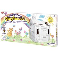 Colour Your Own Cardboard House
